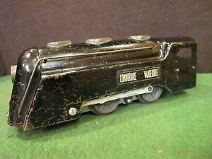 vintage Marx  Commodore Vanderbilt  Engine~ nickel trim