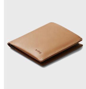 bellroy minimalist wallet note sleeve toffee
