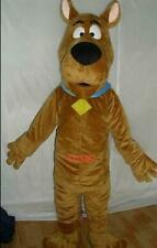 Brown Dog Mascot Costume Cosplay Adults Suit Cartoon Animal Fancy Dress Outfits