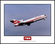 TWA Airlines Boeing 727 11x14 Photo (I210RAFH11X14)