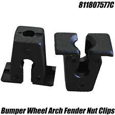 10x Nuts For VW Golf MK1 MK2 MK3 GTI VR6 Corrado Wheel Arch Trim Fixing Insert