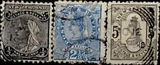 NEW ZEALAND - 1891-1895 - Legende POSTAGE & REVENUE Filigrane B