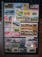 Züge Eisenbahn  Briefmarken Timbres Stamps Sellos