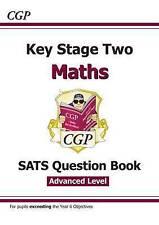 CGP maths SATS question book ADVANCED level  age 7-11 KS2 YR3 YR4 YR5 YR6