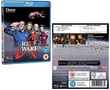 RED DWARF (2012): X - TV SERIES 10 - The Small Rouge One is Back! NEW BLU-RAY UK