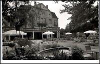Bad Salzschlirf Hessen Ansichtskarte 1962 gelaufen Terrasse am Hotel Badehof