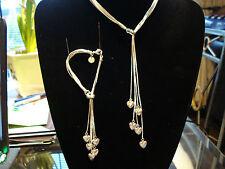 Silver  jewellery set stunning