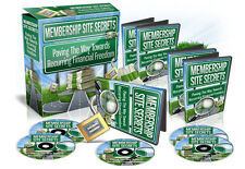 Membership Site Secrets PRO - Create Profitable Membership Sites From Scratch
