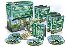 Membership Site Secrets PRO - Create Profitable Membership Sites From Scratch