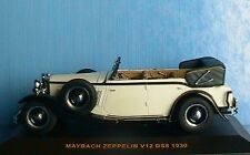 MAYBACH ZEPPELIN V12 DS8 1930 IXO MODELS MUS009 1/43 CLASSIC DIE CAST