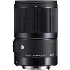 Sigma 70mm f/2.8 DG Macro Lente de arte para Sony FE montaje #271 (Reino Unido E Stock) Nuevo Y En Caja