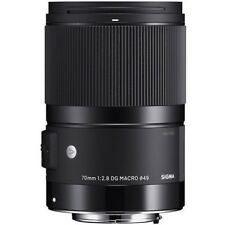 Sigma 70mm f/2.8 DG Macro Art Lens for Sigma SD #271 (UK Stock) BNIB