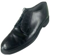 $225 Bates Men's Navy Premier Oxford Size 9.5 Black Police Uniform Band Security