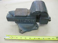 "Vintage Wilton Made in USA 3.5"" Machinist Vise Swivel Base Anvil Top No. 643"