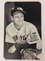Lou Gehrig NY Yankees VTG Advertising Card 3.5x5.5 Baseball Card News MLB
