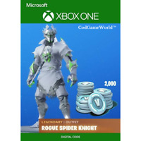 Fortnite - Rogue Spider Knight Bundle +2000 V-Bucks | REEDEM KEY