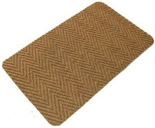 Yellow Multi Directional Doormat Front Back Step Polypropylene Mat 80cm x 50cm