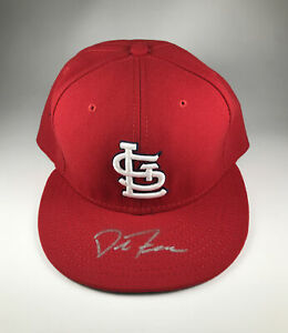 St. Louis Cardinals David Freese Signed Hat MLB Hologram