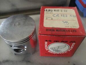 Honda CR125 R CR 125R Piston  ( 55 Mm ) NOS KA3 (1980-81 )