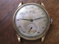 Vintage Tissot Anti-Magnetique Sub Second Mechanical Watch Swiss 1940-1950