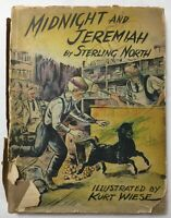 Midnight and Jeremiah by Sterling North 1943 1st edition