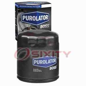 Purolator BOSS Engine Oil Filter for 2007-2008 Pontiac Grand Prix Oil Change cu