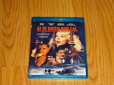 Si Ti Dicen Que Cai Blu-ray Import, Region Free - Spanish Only, No English Subs