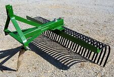 "New 60"" Tri Landscape Rake/Rock Rake, *Can Ship Cheap*"