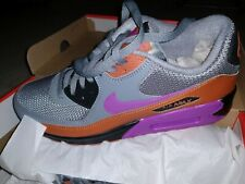 promo code 9e303 dcf6a Nike Air Max 90 Essential Running Shoes Gray Russett Purple Men s NEW