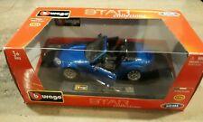 BBURAGO 1:24 Mazda Miata MX-5 Convertible 3rd GEN DIE-CAST BLUE 18-21039