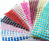 Self Adhesive Stick Gems Diamante Rhinestones Sparkle Strip Crystal Stickers