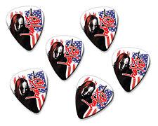 Joey Jordison Slipknot 6 X Loose Guitar Picks Plectrums ( Flag Design )