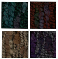 Mondial Malizia Ruffle Scarf Yarn Color # 855 Violet