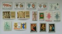 Vatican lot of 16 MNH stamps (lot B)
