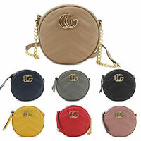 Women's Designer Round Crossbody Bag Ladies Messenger Evening Shoulder Bags New