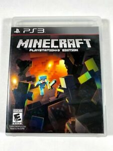 Minecraft PlayStation 3 Edition (Sony PlayStation 3, 2014) PS3 GAME DISC & CASE