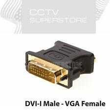 DVI-I MALE ANALOG TO VGA FEMALE CONNECTOR ADAPTER DUAL LINK