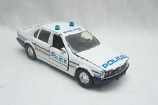 Vintage Matchbox Super Kings BMW 750 TL Police Car - Made In China - 1988