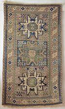 Antique TAPPETO ORIENTALE wonderful Lesghi Star 176x103 Caucasian RUG TAPPETO parte di Tapis