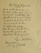 Poet, Auther GEORGE HENRY BAKER - AQS Lot 322