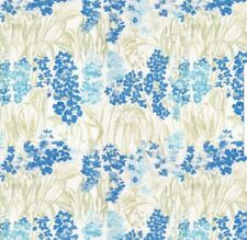 LAURA ASHLEY WILDFLOWERS ~ BLUEBELL ROMAN BLIND also Curtains