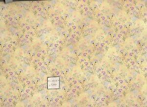 """Meadow Flowers"" miniature wallpaper Jackson's Miniatures dollhouse 1p JM85"