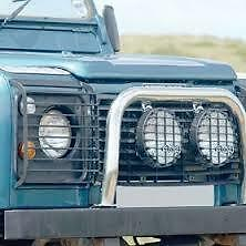 LAND ROVER DEFENDER - Front Light Gaurd Set with Fixings 2002 ONWARDS - STC53161