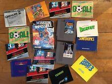 Lot Nintendo NES - Jeux et Notices (mario / disney / donkey kong ...)