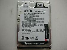 """WD Scorpio Black 320gb WD3200BEKT-60PVMT0 2060-771692-005 REV A 2,5"""" SATA"""