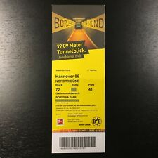 2017/18 – BVB 09 Borussia Dortmund / Hannover 96 – Eintrittskarte Sammlerticket