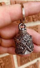 Guns N Roses Bell Of Good Luck gift fortune pet keychain friendship love flower