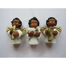 Set of 3 statuettes of angels