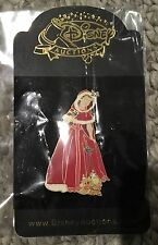 Disney Auctions Beauty and the Beast Belle winter dress birds pin LE 500