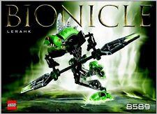 LEGO BIONICLE RAHKSHI SET # 8589 LERAHK ( PROMOTIONAL ) W PURPLE KRAATA